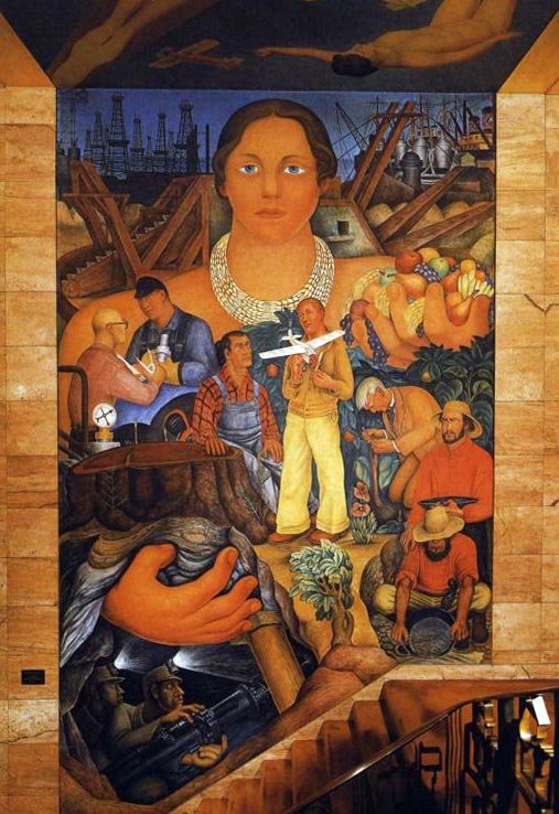 Diego Rivera Alegory of California