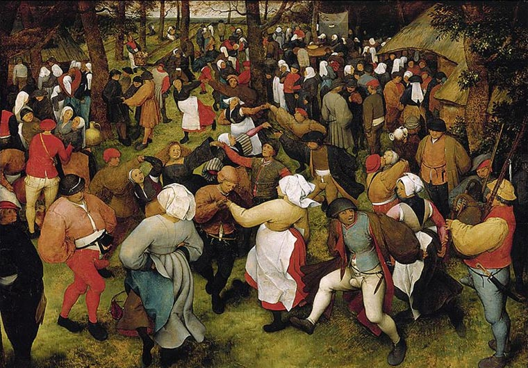 The Wedding Dance by Pieter Bruegel the Elder